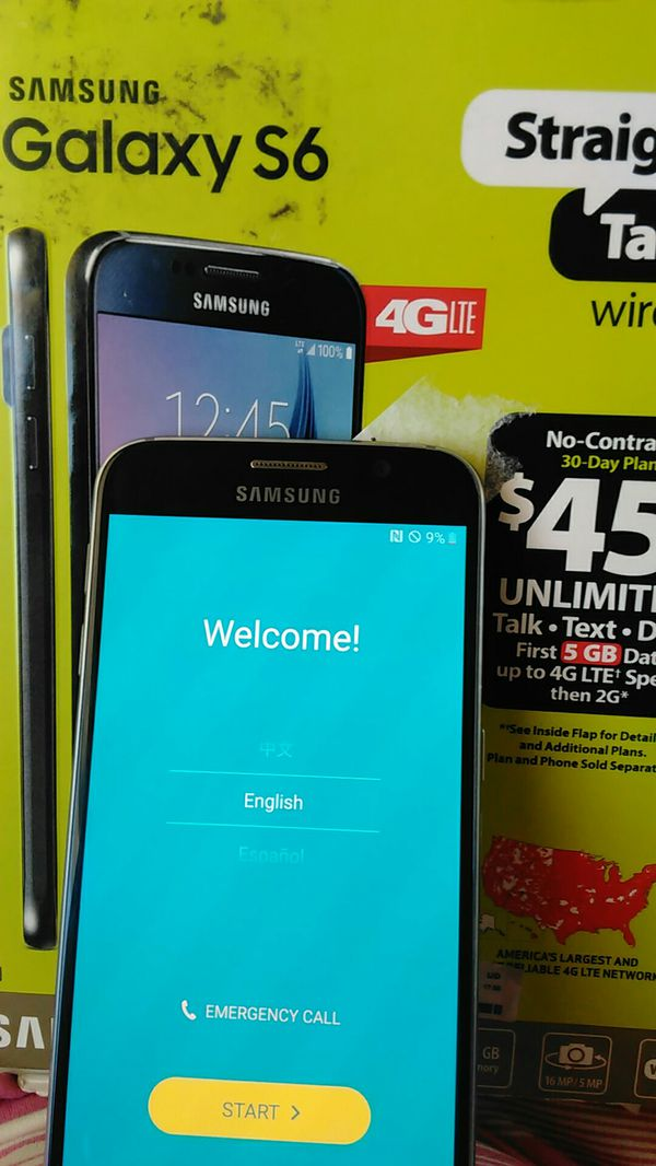 SAMSUNG GALAXY S6 STRAIGHT TALK for Sale in Kyle, TX - OfferUp