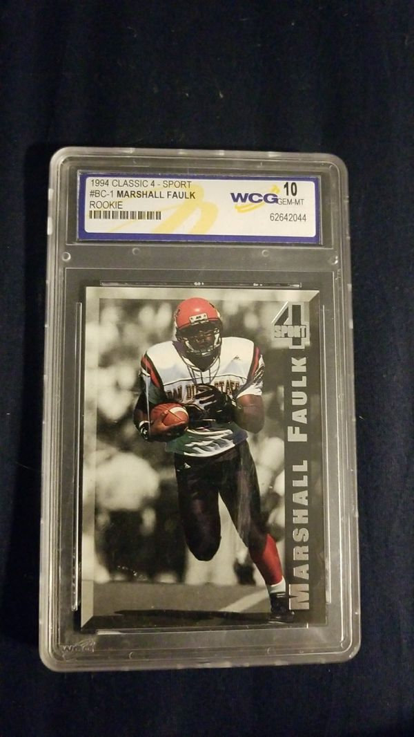 Marshall Faulk Rookie Card For Sale In Gilbert Az Offerup
