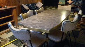 Gorgeous fabulous 50s dining set for Sale in Silver Spring, MD