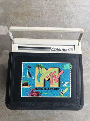 Coleman Retro MTV Cooler for Sale in Los Angeles, CA