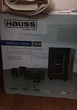 Hauss home theater system for Sale in Dallas, TX