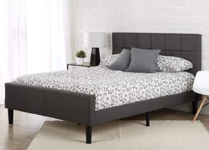New king platform bed frame for Sale in Columbus, OH