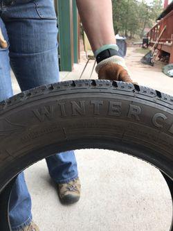 4 Studded tires Thumbnail