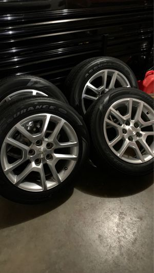 "Photo 17"" Chevy wheels"