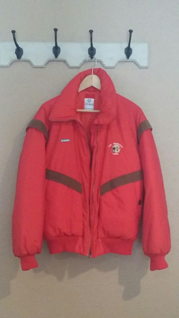 premium selection 25d52 dcc18 COLMAR SAN FRANCISCO 49ERS JACKET SIZES XL for Sale in San Leandro, CA -  OfferUp