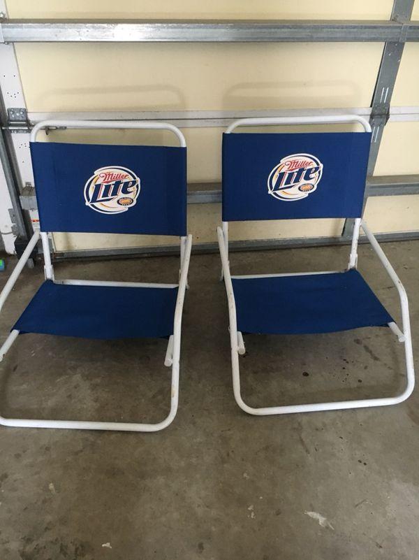 Marvelous Miller Lite Beach Chairs For Sale In Myrtle Beach Sc Offerup Theyellowbook Wood Chair Design Ideas Theyellowbookinfo