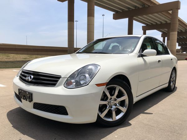 2006 Infiniti G35 Sedan Loaded Pearl White Clean Le No Issues