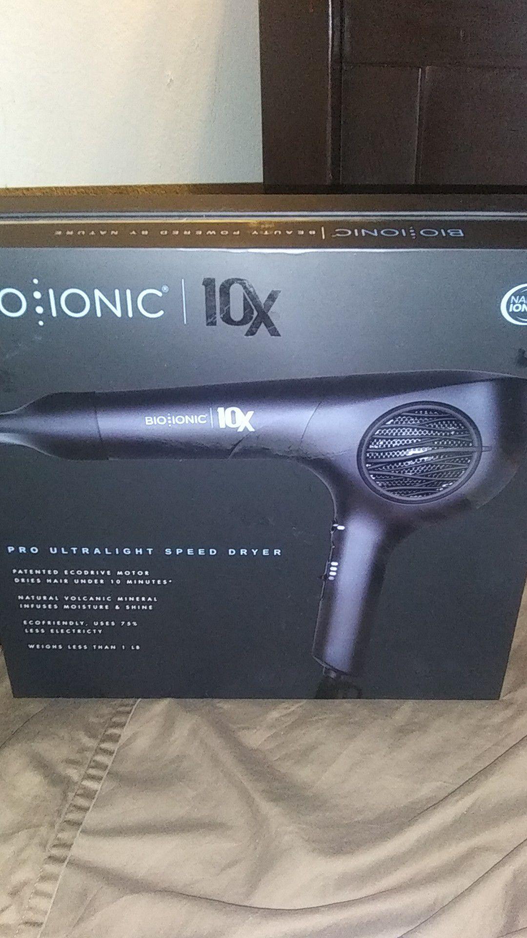 Bio ionic 10x blow dryer