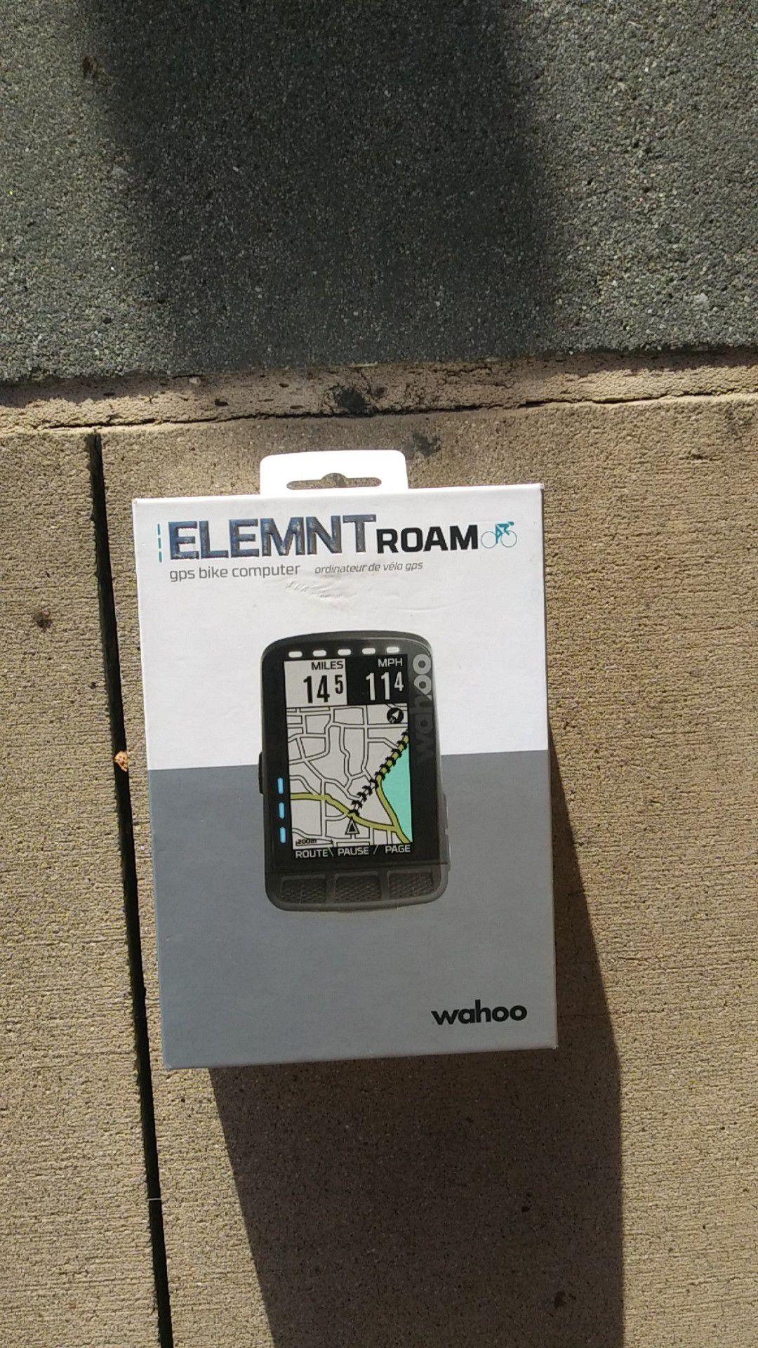 Element Roam gps bike computer