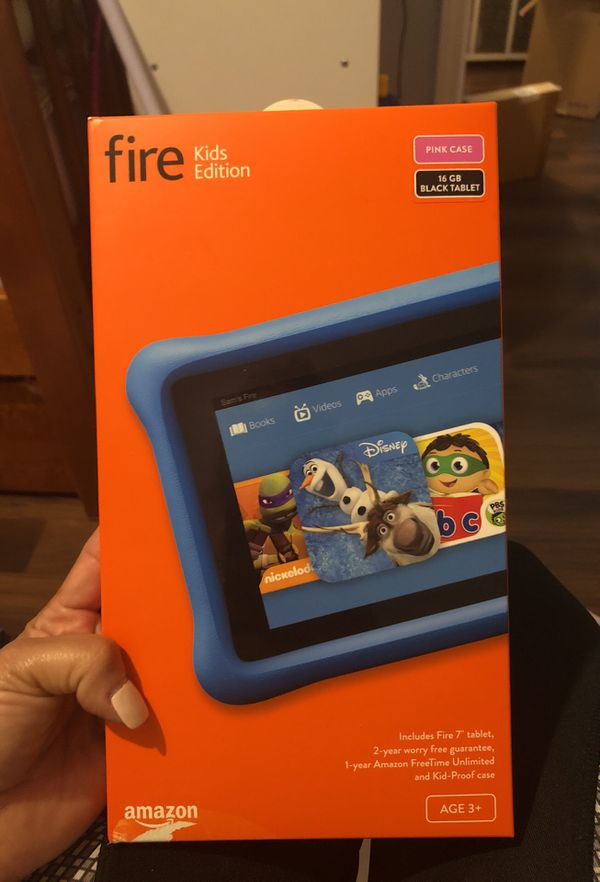 Fire kids kindle tablet for Sale in Chicago, IL - OfferUp