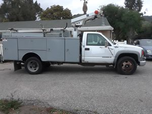 Photo 1999 Chevy 3500 Utility Truck w Generator & Air Compressor