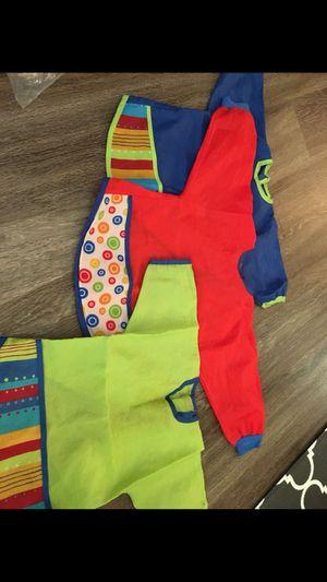 Baby toddler long sleeve bibs for Sale in Alexandria, VA