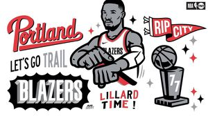 BLAZERS vs LAKERS need to go ASAP! for Sale in Portland, OR