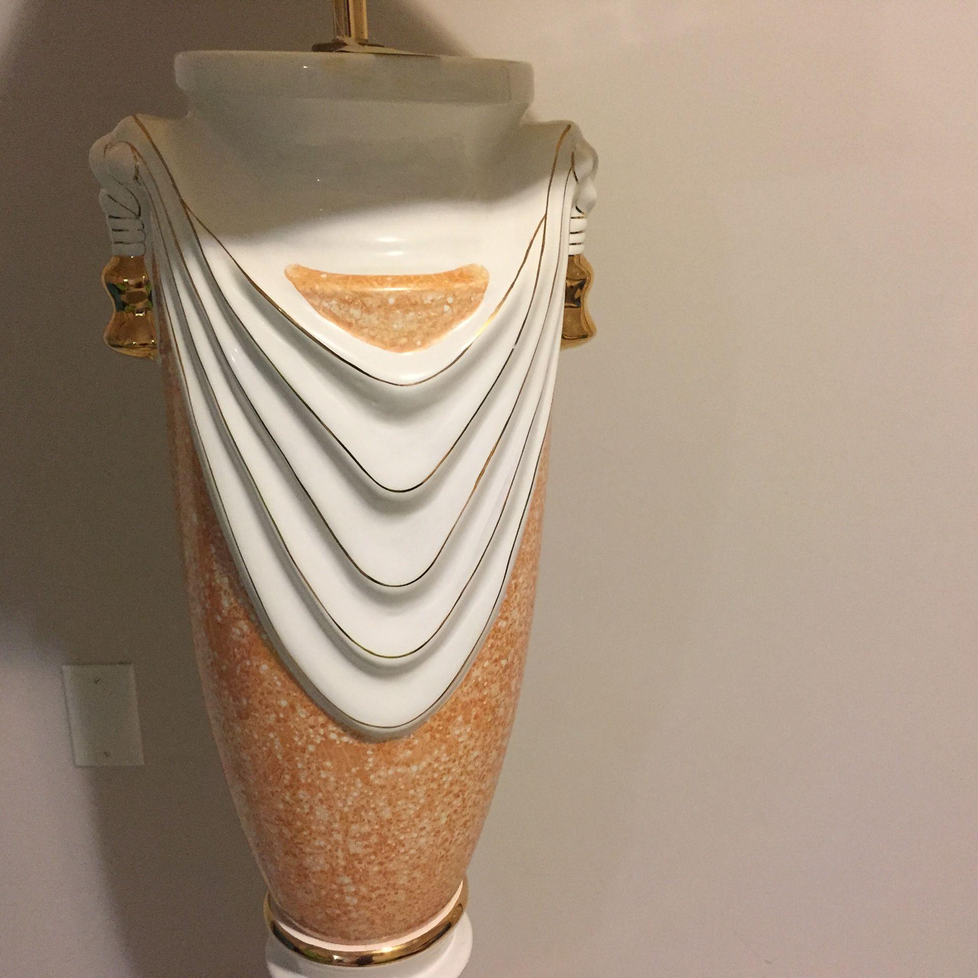 Nice porcelain floor lamp reg $120 now $100 brand new
