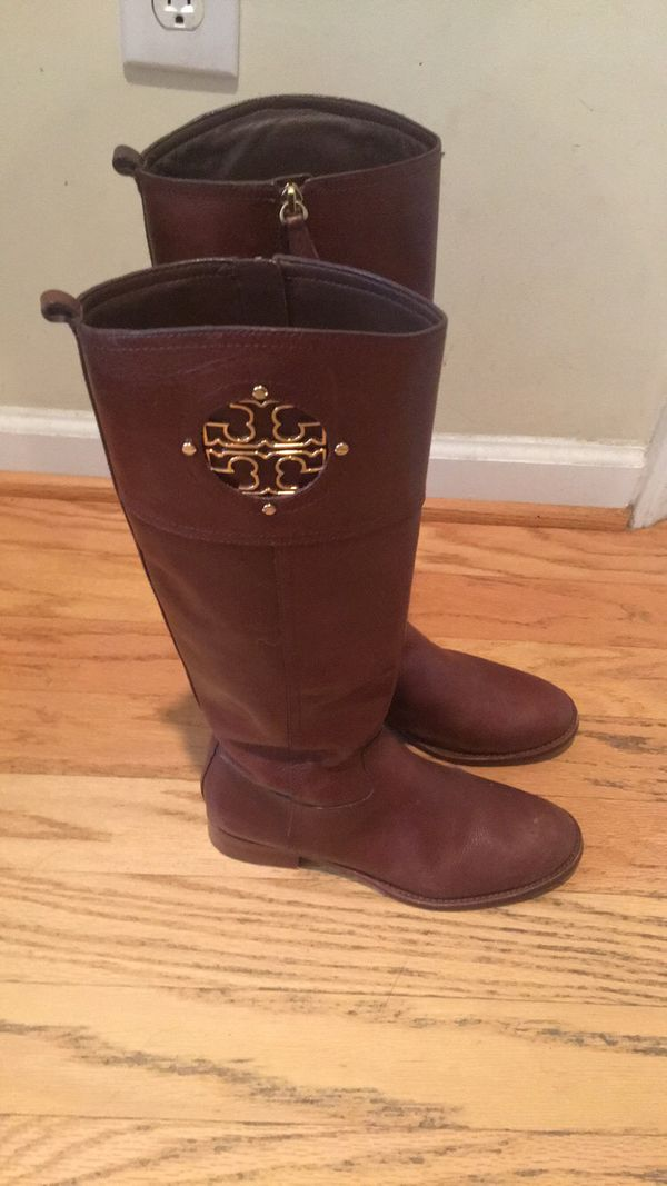 c951c34ecf5f Tory Burch Leather Boots for Sale in Raleigh