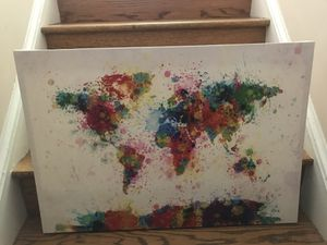 Beautiful world canvas picture! for Sale in Washington, DC