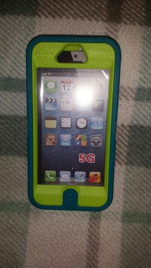 IPhone 5g case, neon green\blue 3pc for Sale in Murfreesboro, TN
