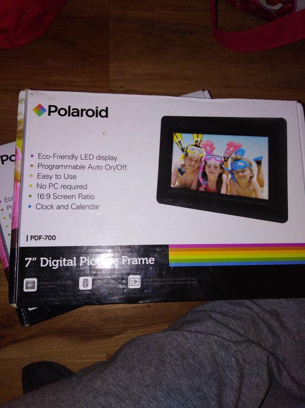 Polaroid 7 Digital Frame For Sale In San Diego Ca Offerup