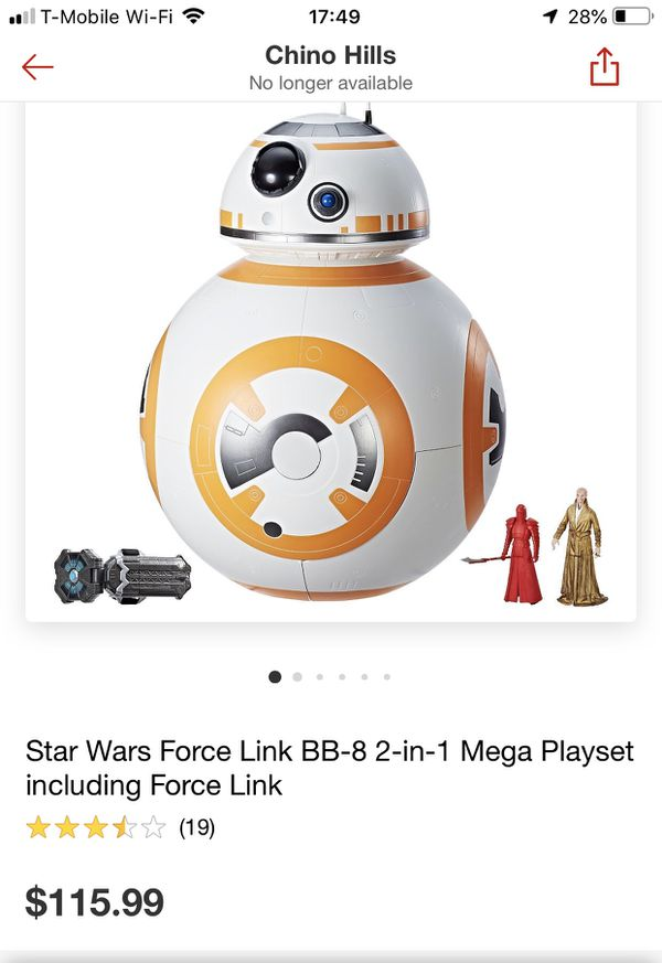 Star War Force Link BB8 Mega playset for Sale in Chino, CA - OfferUp