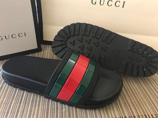 2d12636eb695 Gucci signature slides for Sale in Los Altos