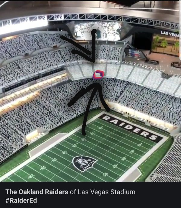Offerup Las Vegas >> RAIDERS PSL's (2 seats) for Sale in Goodyear, AZ - OfferUp