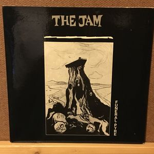 The Jam Funeral Pyre uk punk 7-inch vinyl single record not LP album for Sale in Austin, TX