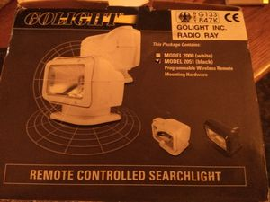 Marine Remote controlled searchlight for Sale in Austin, TX