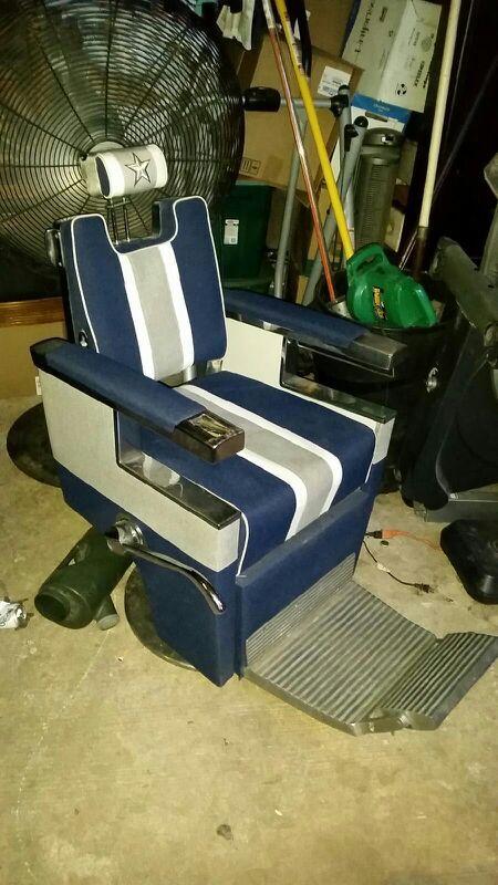 Dallas cowboys antique barber chair - Dallas Cowboys Antique Barber Chair For Sale In Irving, TX - OfferUp