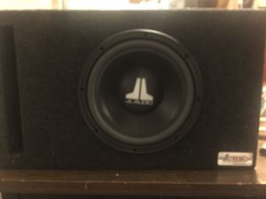 JL audio 10 inch In very good conditions, with box for Sale in Arlington, VA