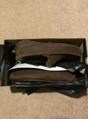 Photo Mens Ugg Ascot Brown Slipper Sz 10