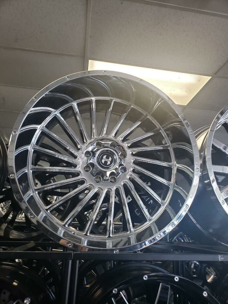 RINES 22X12 MONKEY WHEELS AND TIRES