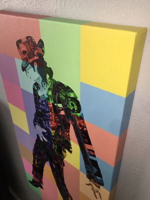 Michael Jackson Canvas Wrap wall decor for Sale in Riverbank, CA