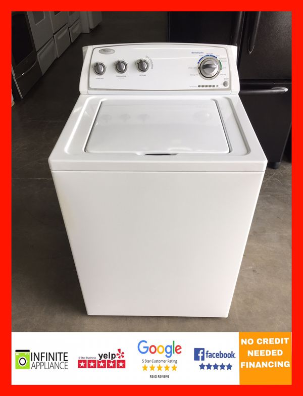 Whirlpool Washer With Agitator >> Whirlpool Top Load High Efficiency Washer With Agitator For Sale In