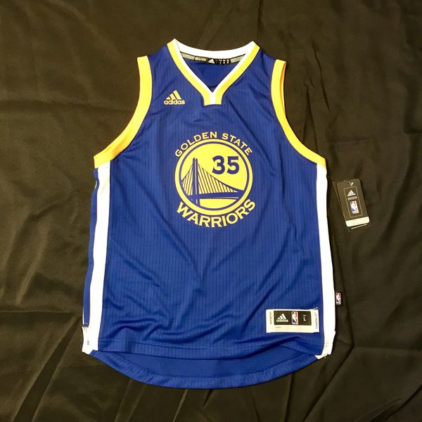 b2cc2f88cc9 Kevin Durant Swingman Jersey  Youth Large New with Tags Adidas Golden State  Warriors