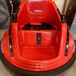 Kidzone Bumper Car w/Remote Control Thumbnail