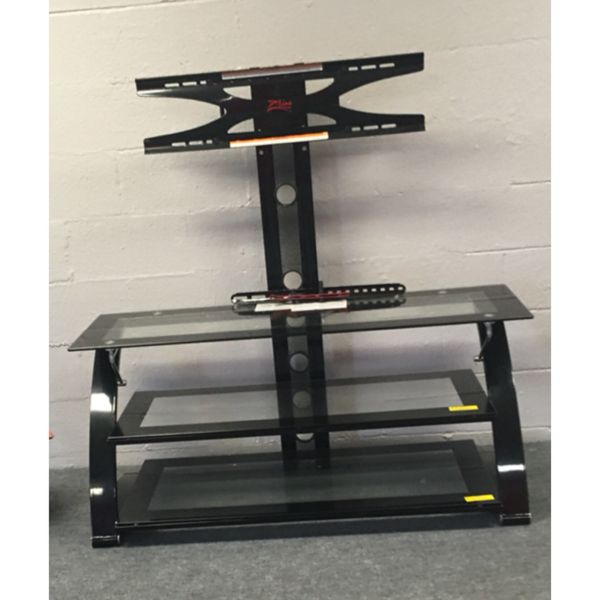 Three Tier Glass Tv Stand With Mount Furniture In Portsmouth Va