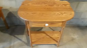 Washed and solid oak Amish made 31 and 1/2 wide 14 deep 33 and a half tall excellent condition for Sale in Columbus, OH