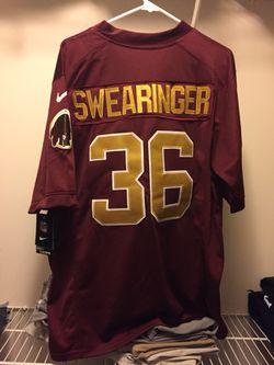 DJ Swearinger Men's Redskins Jersey - Large Thumbnail