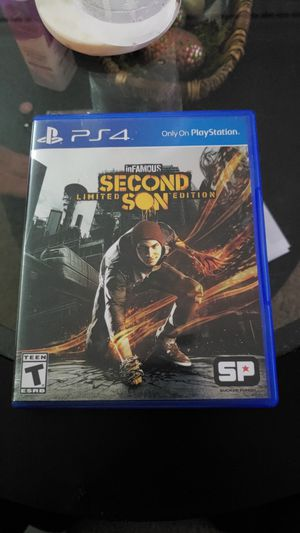 inFAMOUS Second Son Limited Edition - PS4 for Sale in Atlanta, GA
