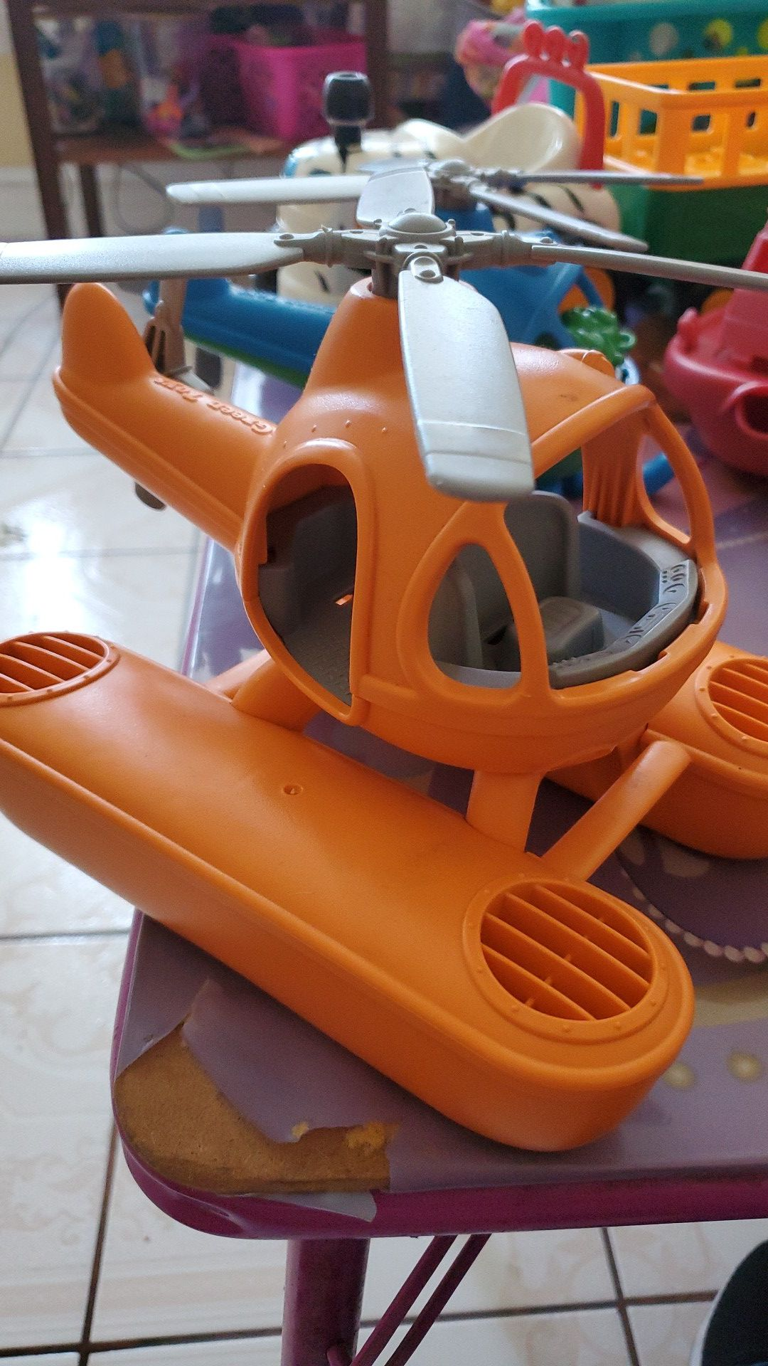 Helicopter toy