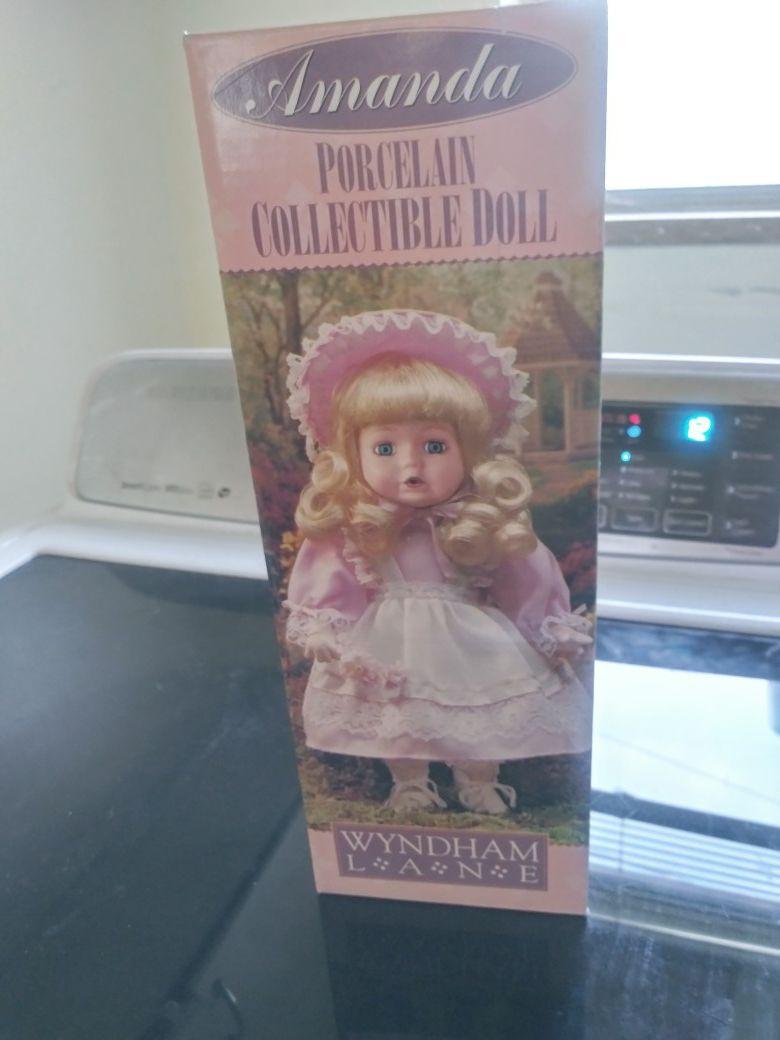 Amanda vintage doll