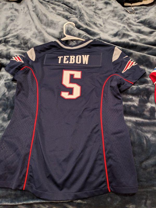 sale retailer 92499 88bb8 Patriots Tebow Jersey Women's Medium for Sale in San Diego, CA - OfferUp