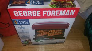 George Forman grill and panini maker for Sale in Edison, NJ