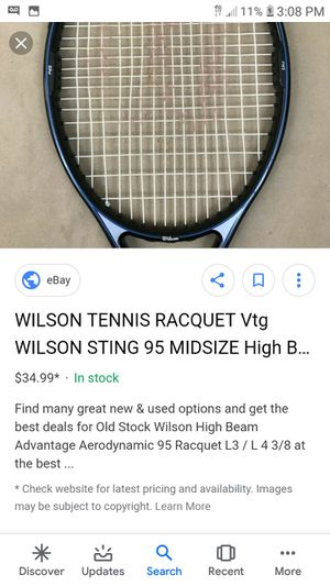 New and Used Tennis rackets for Sale in Bakersfield, CA