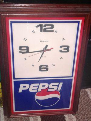 Pepsi Clock for Sale in Columbus, OH