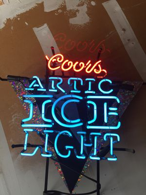 coors neon light sign for Sale in Clovis, CA
