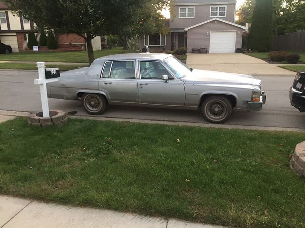 87 Cadillac fleetwood brougham for Sale in Bolingbrook, IL ...