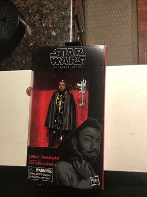 Lando Calrissian- Star Wars Black Series for Sale in Arlington, VA