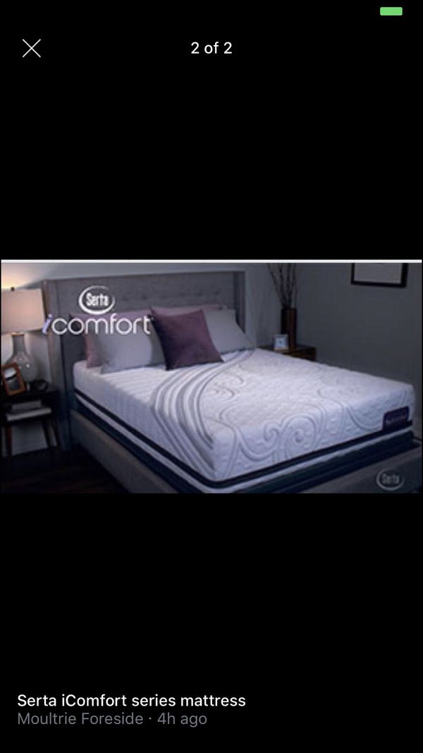 Serta Icomfort Mattress Like New Queen For Sale In St Augustine Fl