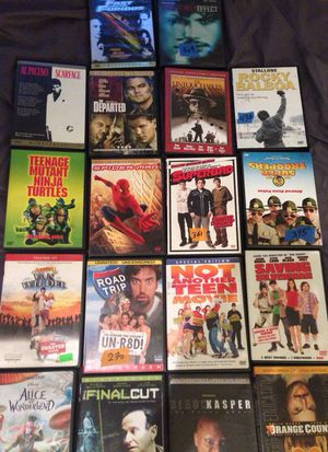 DVD Movies different prices for Sale in San Diego, CA